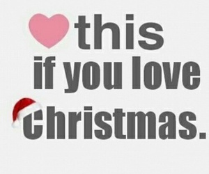 christmas and love image