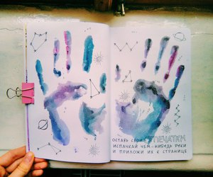 art, wreck this journal, and tumblr image