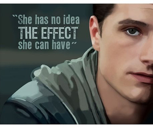 josh hutcherson, effect, and hunger games image