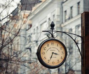 clock, vintage, and city image