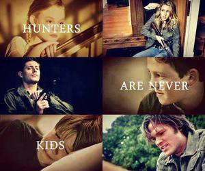 supernatural, hunter, and dean winchester image