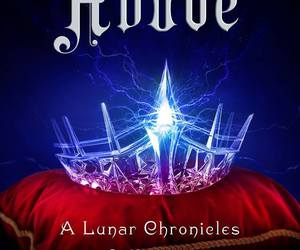 marissa meyer, the lunar chronicles, and book image