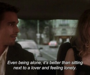 quotes, alone, and lovers image