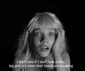 break up, cry, and heart image
