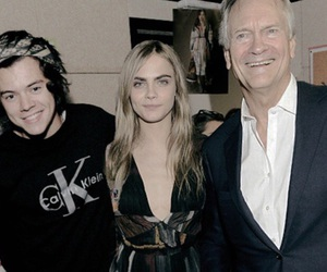 couple, cara delevingne, and Harry Styles image