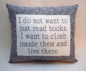 books and pillow image