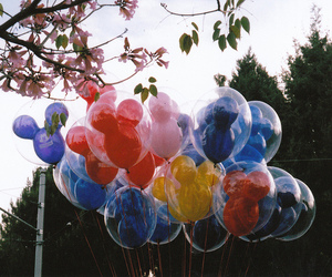 balloons and nature image
