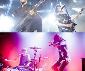 fall out boy, panic!at the disco, and twenty one pilots image