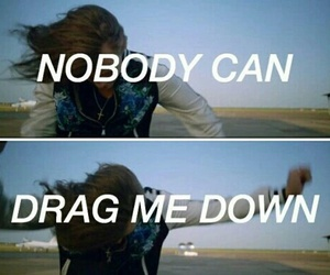 one direction, Harry Styles, and drag me down image