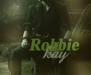 robbie kay, once upon a time, and peter pan image