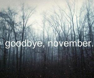 november, goodbye, and december image
