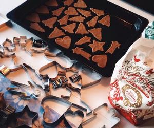 bake, baking, and christmas image