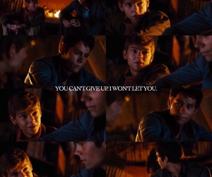 give up, newt, and otp image