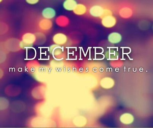december and wish image