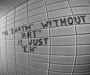 art, earth, and quotes image