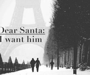 christmas, santa, and love image