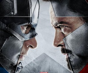 civil war, captain america, and iron man image