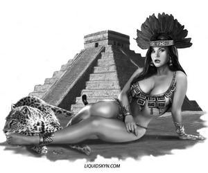 aztec, beautiful, and mexican image