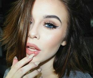acacia brinley, makeup, and make up image