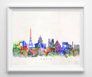 cityscape, etsy, and home decor image
