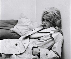 brigitte bardot and black and white image