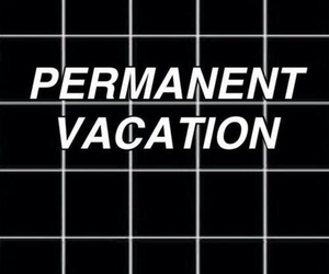 vacation, black, and grunge image