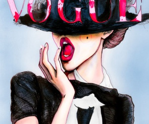 art, black, and vogue image