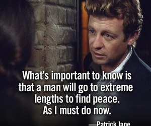 quotes, the mentalist, and patrick jane image