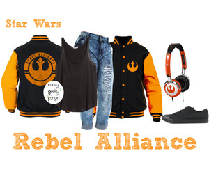 star wars, plus size, and rebel alliance image