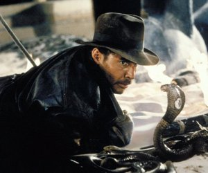 harrison ford, hat, and Indiana Jones image