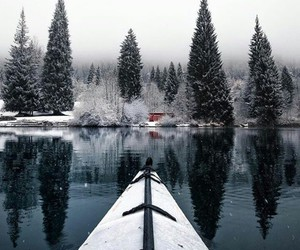 cold, house, and winter image