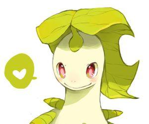 pokemon and bayleef image