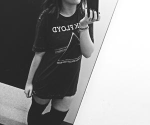 black and white, boho, and girl image