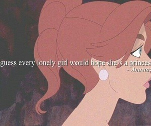 anastasia, princess, and quote image