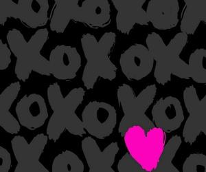 wallpaper, xoxo, and pink image