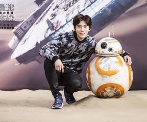 luhan, exo, and star wars image