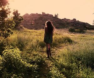 girl, nature, and beautiful image