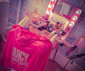 makeup, juicy couture, and beauty image