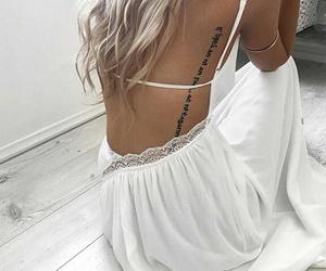 tattoo, fashion, and dress image