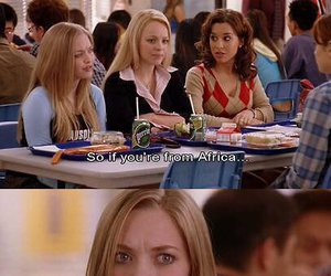 mean girls, funny, and africa image