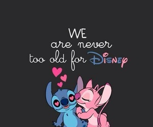 blue, disney, and pink image