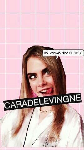 awesome, wallpaper, and cara delevingne image