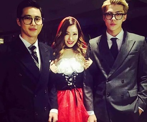 tiffany, sehun, and exo image