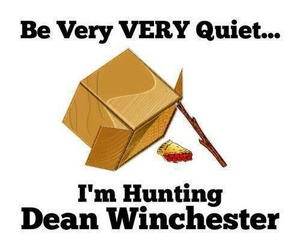 supernatural, dean winchester, and pie image