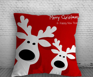 christmas, pillow, and pillow case image