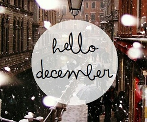 december, winter, and snow image