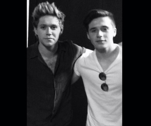 niall horan, brooklyn beckham, and one direction image