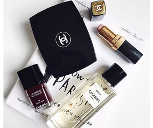 make-up, chanel, and cosmetics image