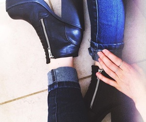 booties, cozy, and shoes image