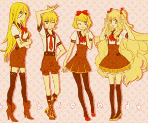 lily, vocaloid, and seeu image